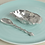 Thumbnail: Pewter Oyster Bowl and Mussel Spoon