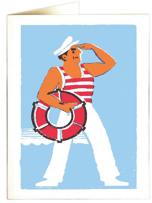 Hello Sailor Greetings Card