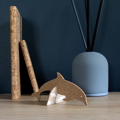 Cork 3D Dolphin Pop-Up