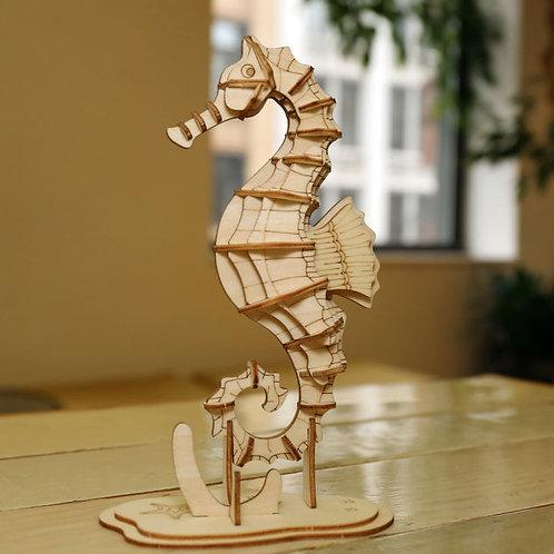 Seahorse 3D Puzzle