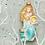 Thumbnail: Glass Mermaid Christmas Decoration