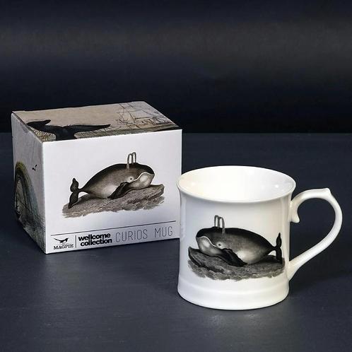Whale Fine China Mug