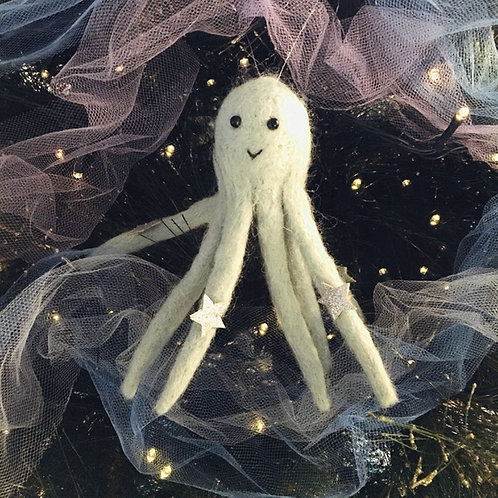 Octopus Felt Decoration