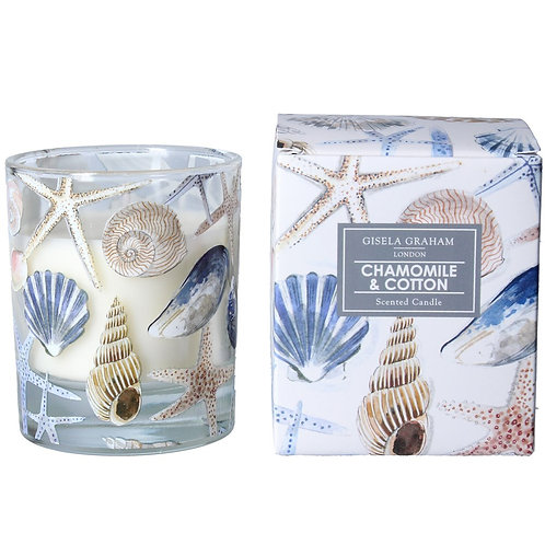 Boxed Scented Shells Candle