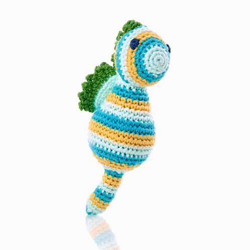 Crochet Seahorse Rattle