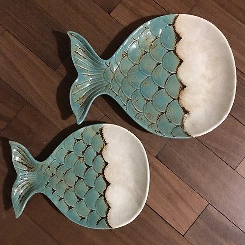 Ceramic Fish Plates