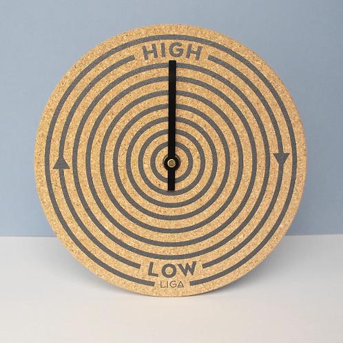Cork Orbit Tide Clock