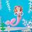 Thumbnail: Pink Mermaid Felt Christmas Decoration
