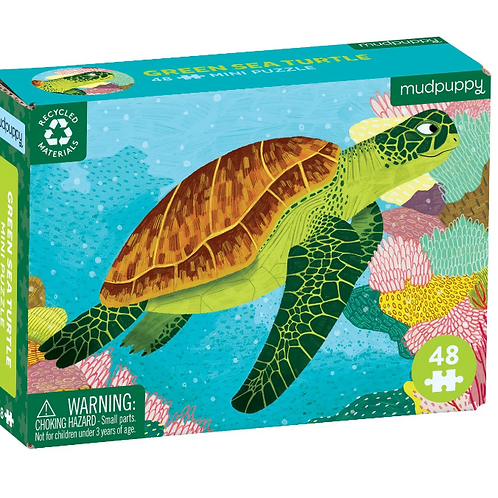 Sea Turtle Mini Jigsaw Puzzle