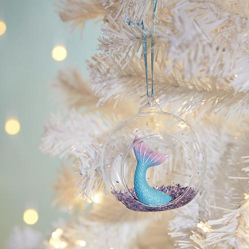 Mermaid Tail Christmas Decoration