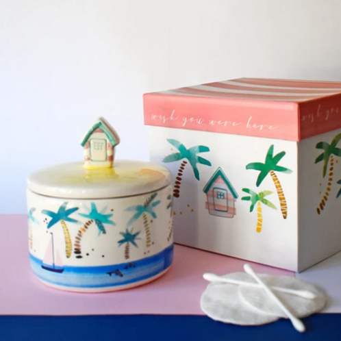 Beach Hut Jar