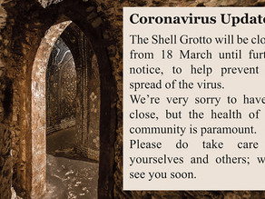 Grotto Closed Until Further Notice