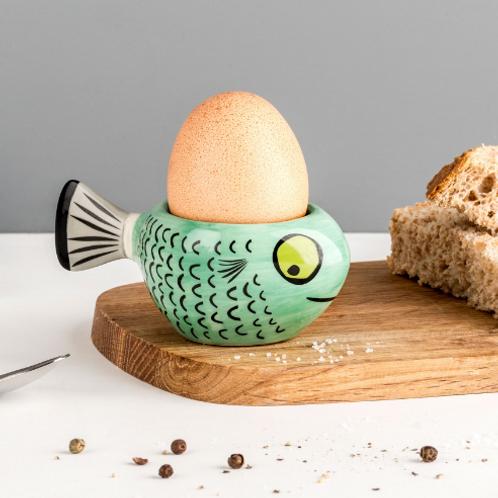Hannah Turner Fish Egg Cup