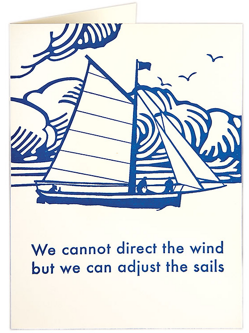 Sailing Greetings Card