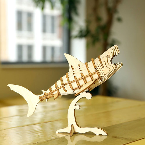 Shark 3D Puzzle