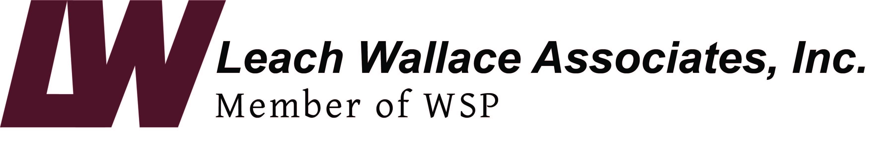 Leach Wallace w WSP logo bold Flush Left