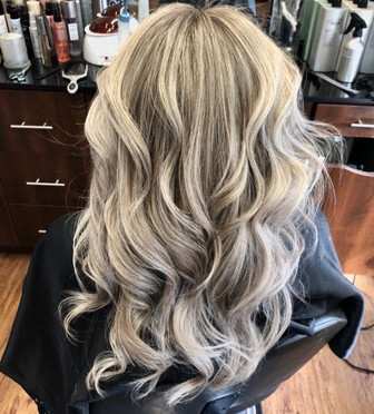 Hair color and styling