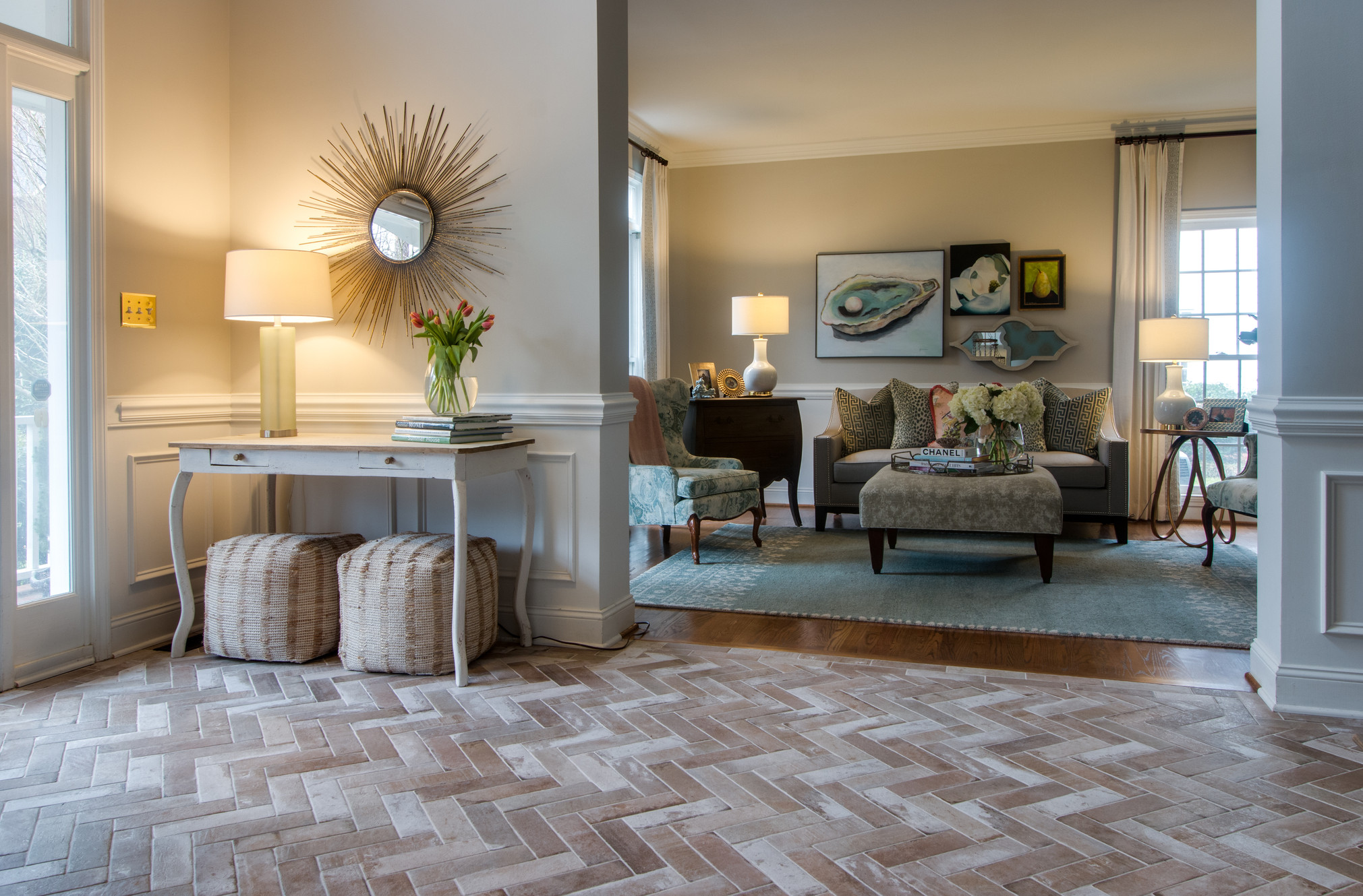 Fireplaces cottage lane interiors a charlotte nc - Interior design firms in charlotte nc ...