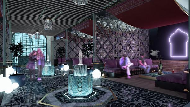 Lounge Árabe