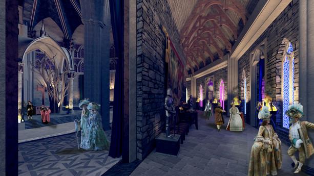 O Hall das 07 Salas