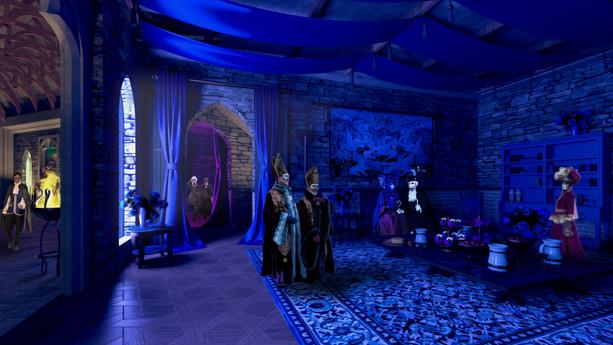 A Sala Azul
