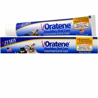 Zymox Oratene Toothpaste Gel (2.5 oz) UK Stock