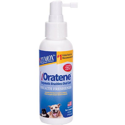 Zymox Oratene Breath Freshener (4 oz) UK Stock