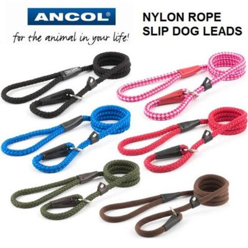 Ancol Nylon Rope Slip Lead