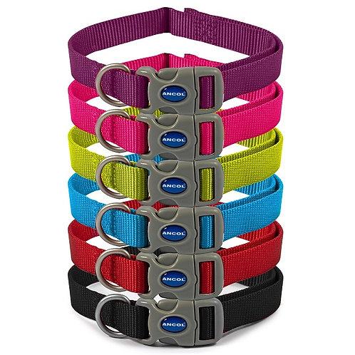 Ancol Viva Nylon Adjustable Dog Collar