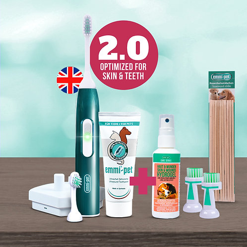 Emmi®-pet 2.0 Skin & Tooth Care Set English
