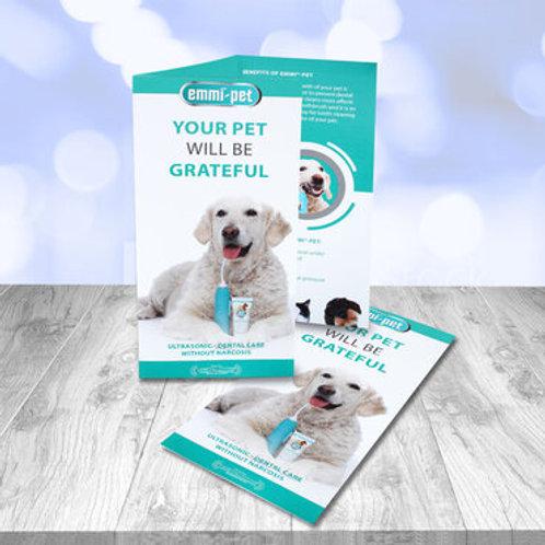 Emmi-Pet Flyer (50 Pack)