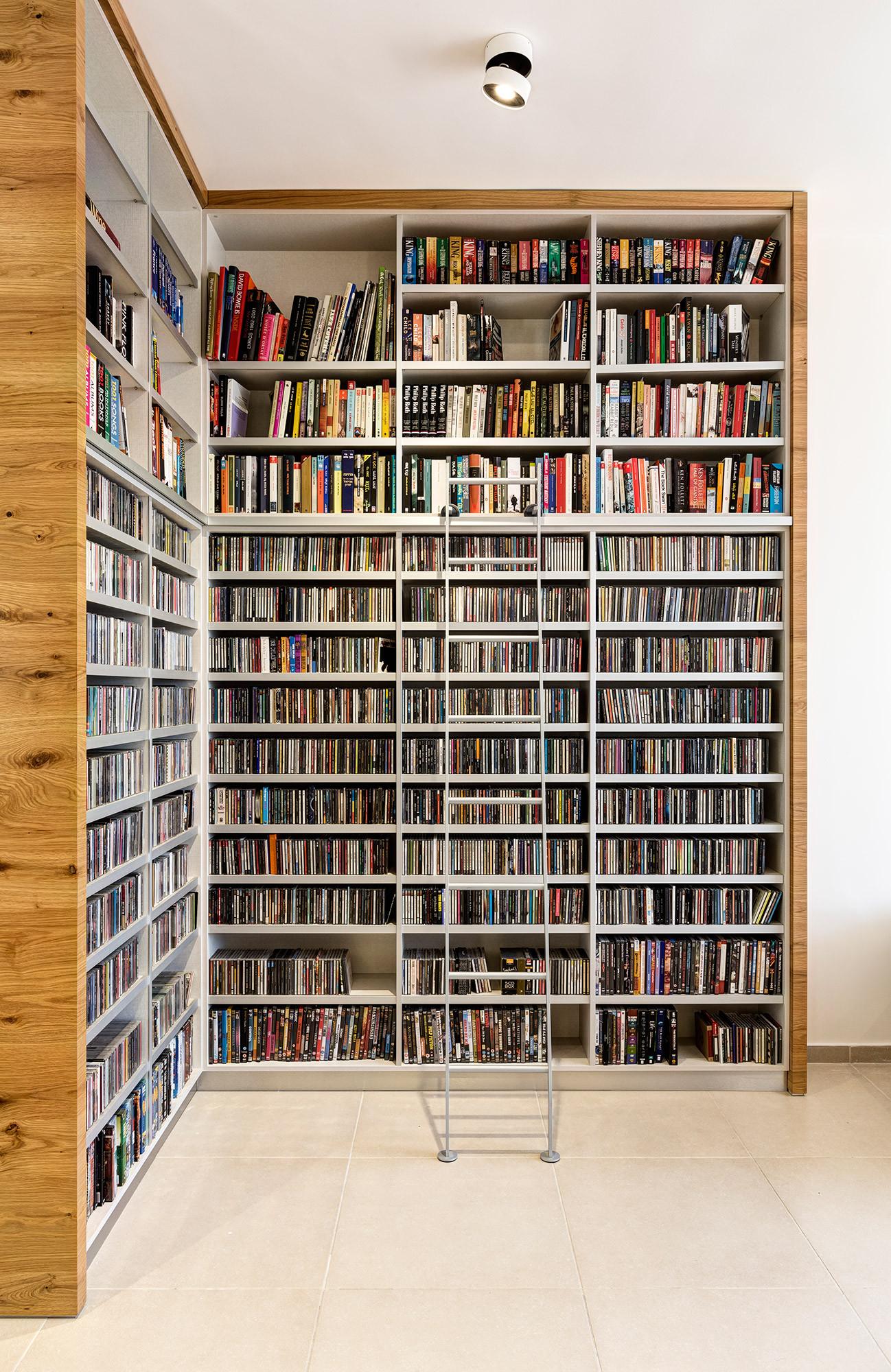 עיצוב ספרייה