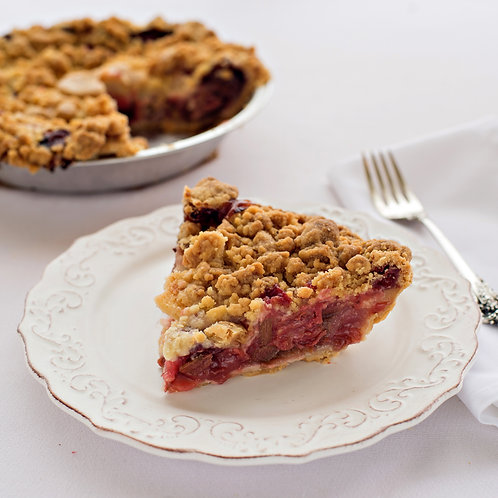 "9"" Strawberry Rhubarb Crumb"
