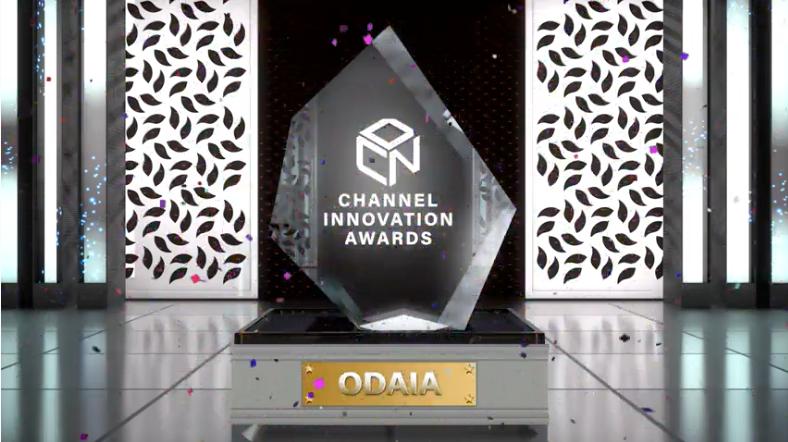 Channel Innovation Awards Virtual Presentation- ODAIA's Trophy