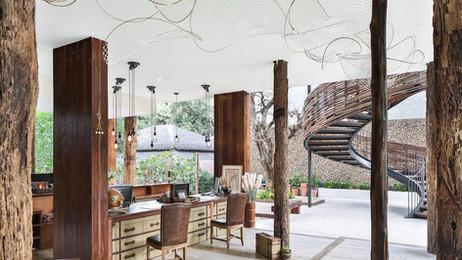 Luxury boutique beachfront resort in Thailand