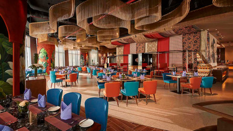 Five hundred seat all day dining restaurant in Vietnam