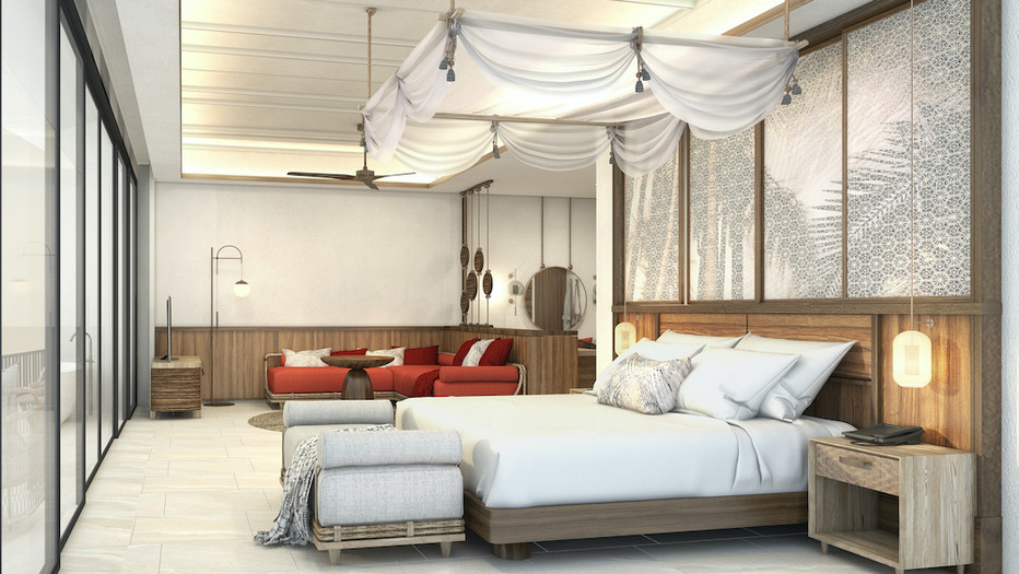 Luxury boutique beachfront resort in Thailand
