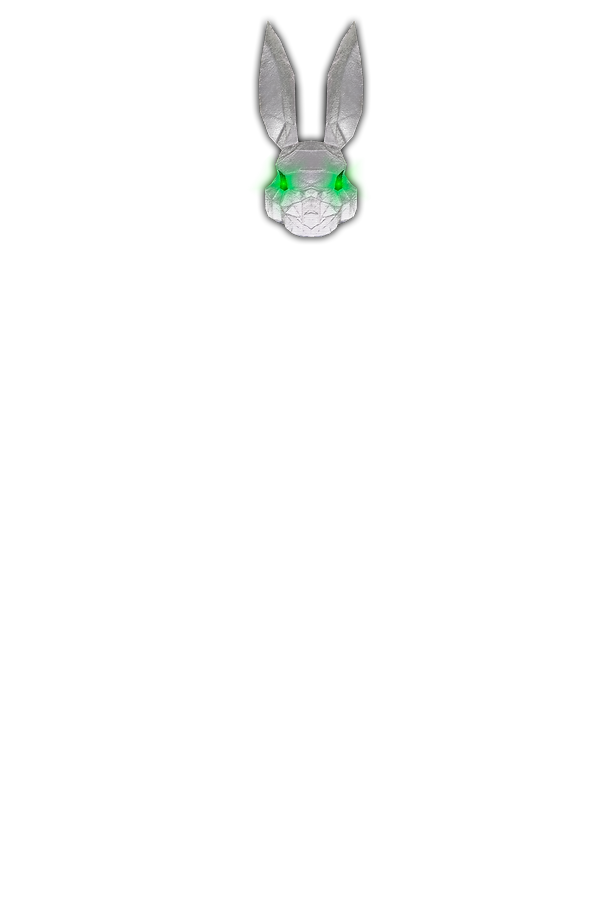 WHITE NULISMO RABBIT