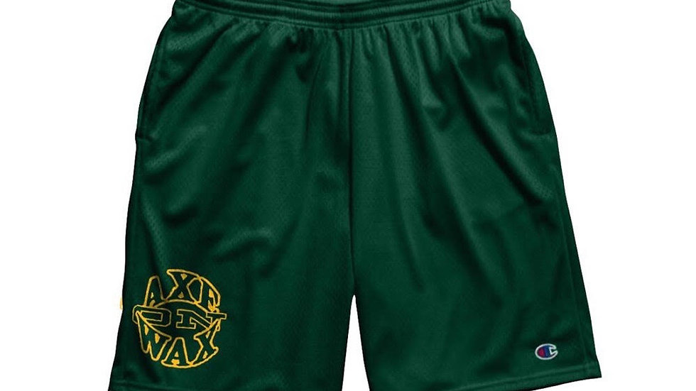 Champion Mesh Shorts with Pockets (Green)