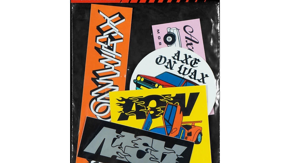 AOW 'Racing Supplies' Sticker Pack