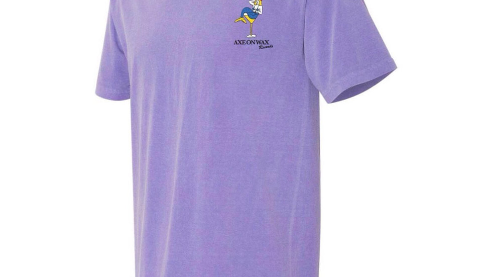 SS20 Violet 'Pin Up' Tee