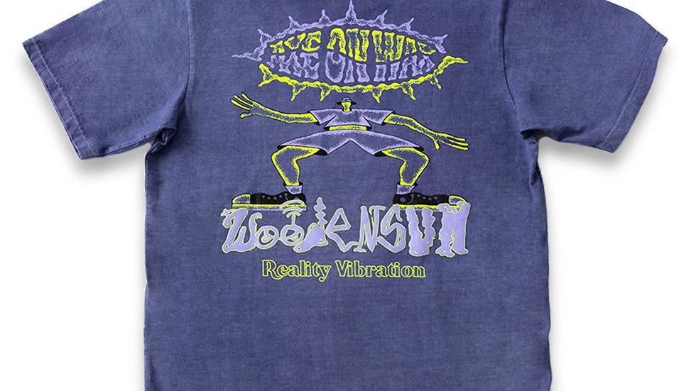 Reality Vibrations Purple Washed T-Shirt