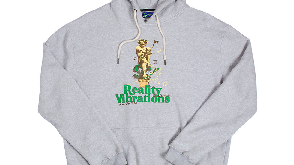 Reality Vibrations Grey Hoodie