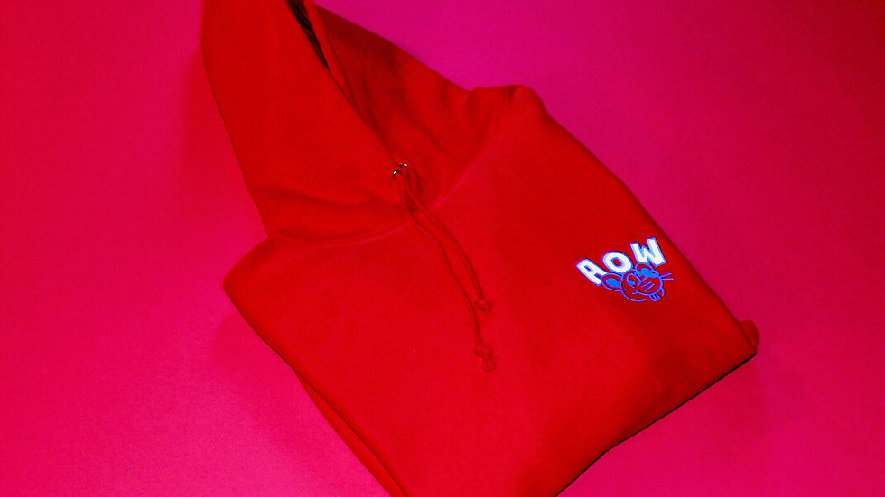 SS20 Red Hoodie