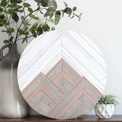 Tara.  Wood Mosaic