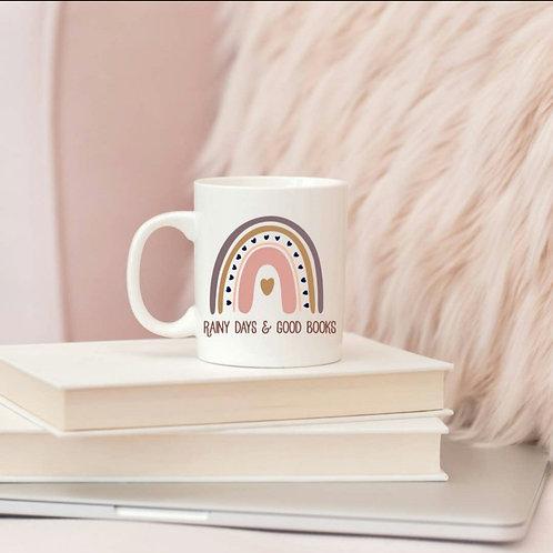 Rainy Days & Good Books Mug