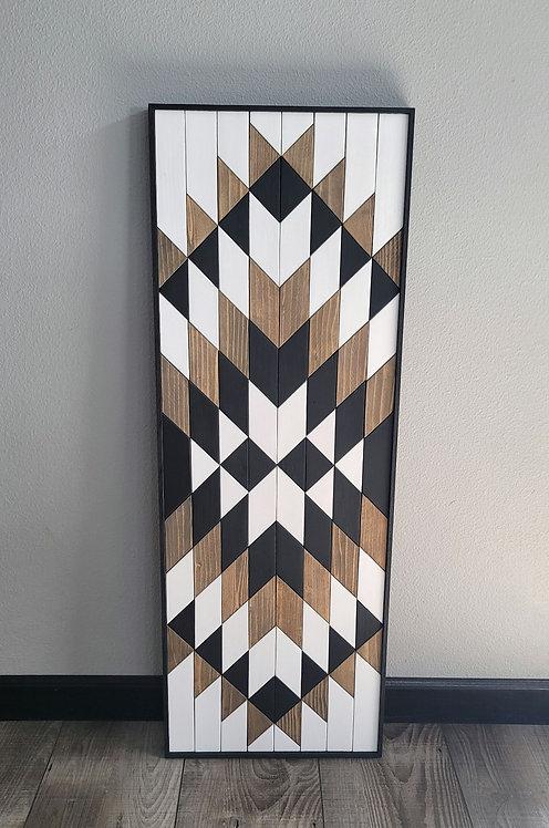 August. Wood Mosaic