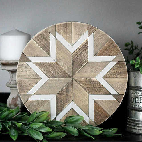 Wilhelmina. Wood Mosaic