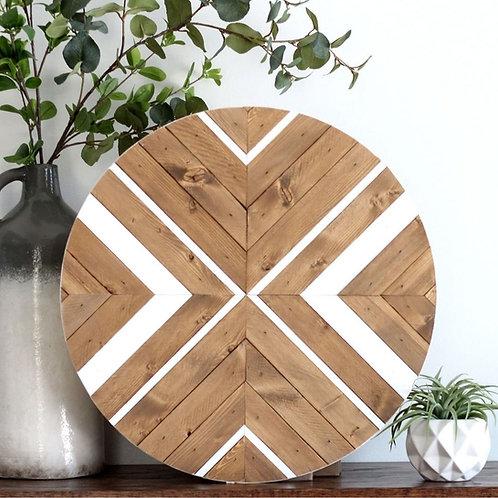 Cheryl. Wood Mosaic