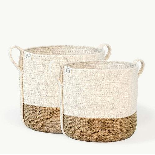 Savar Basket with Side Handle